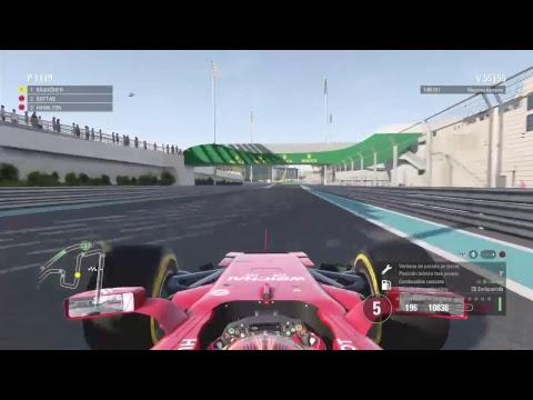 Simulación GP Abu Dhabi F1 2017