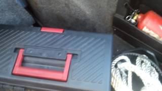 Что делать если мокреет в багажнике?РЕНО 25 легенда