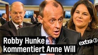 Robby Hunke kommentiert Anne Will