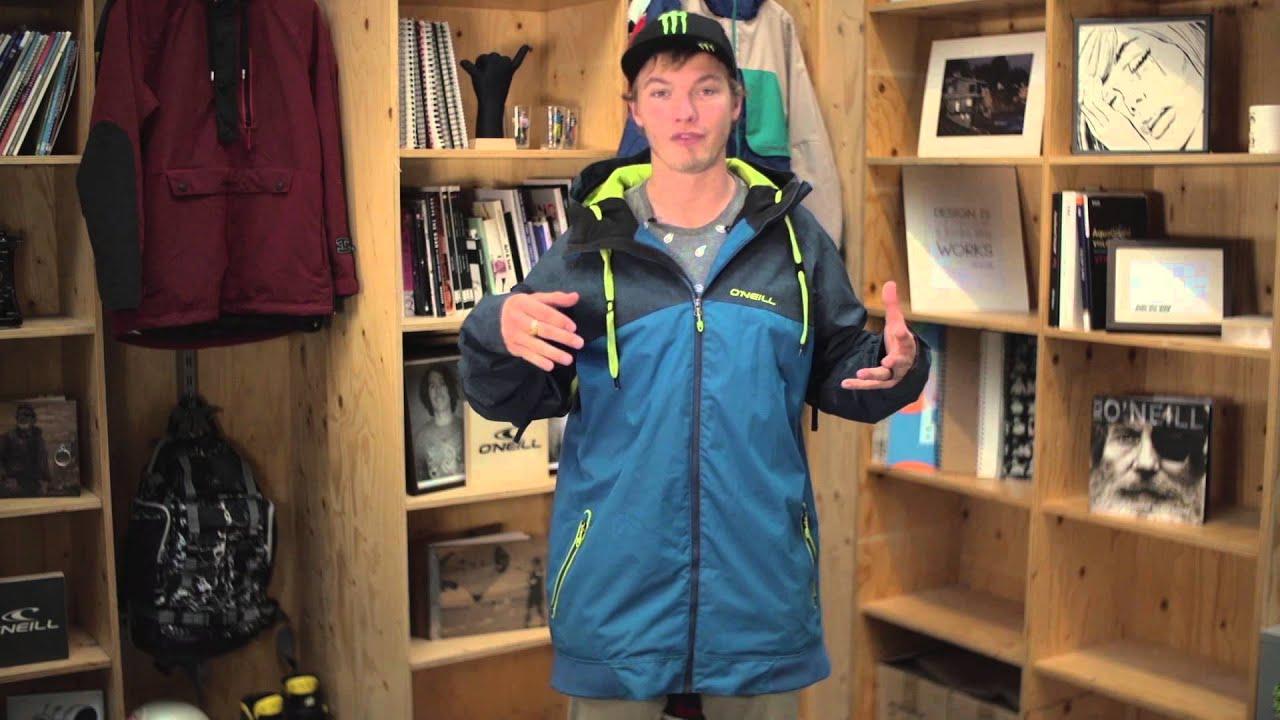 O'neill cue ski jacket mens