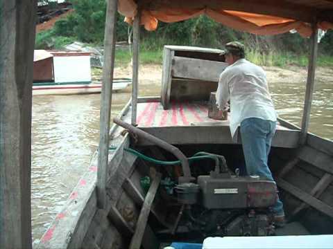 Boat In Paraguay