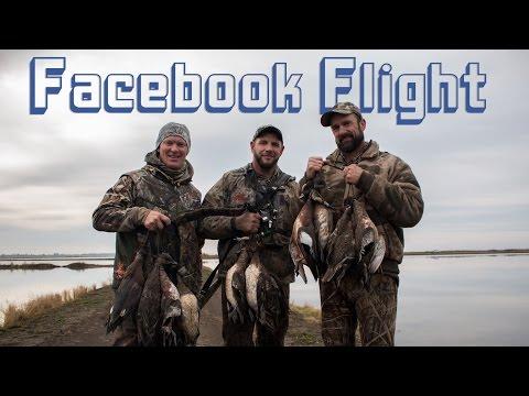 Facebook Flight- Duck Hunting In Sacramento Valley