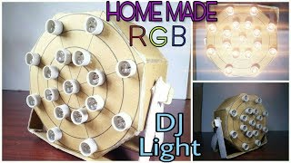 How to make Dj light simple and Easy