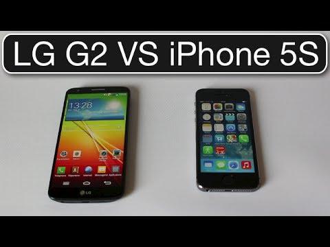 iPhone 5S VS LG G2 | Quel est le meilleur smartphone ...