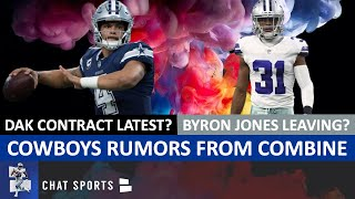 Dallas Cowboys Rumors: Byron Jones A Goner? Dak The Franchise QB? Amari Cooper? Tight End In Draft?