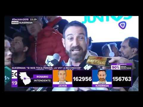 Pasadas las 23.30, Sukerman admitió la victoria de Javkin