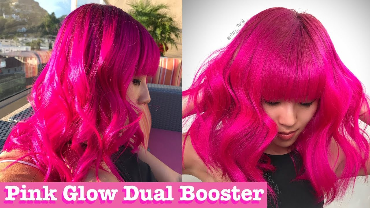 Pink Glow Color Booster Youtube