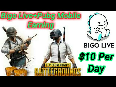 How To Earn From Pubg Mobile Game Play Game In Bigo Live $10 Per Day