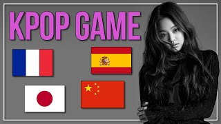 GUESS THE KPOP SONG BY THE FOREIGN LYRICS  KPOP Challenge  Difficulty Easy