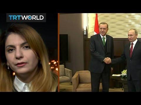 Money Talks: Turkish President Erdogan visits Russia