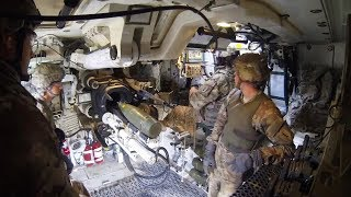 Inside the M109 Paladin 155 mm Self-Propelled Howitzer