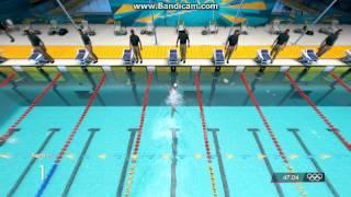 Londres 2012 100m Masculinos Estilo Libre Natacion HD