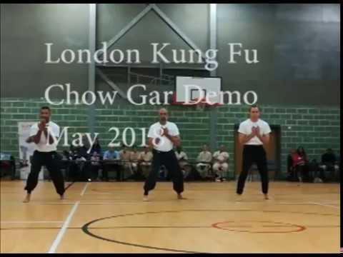 London Kung Fu Demo May 2018