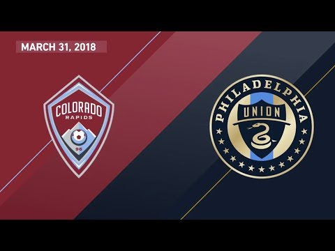HIGHLIGHTS: Colorado Rapids vs. Philadelphia Union | March 3