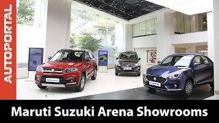 Maruti Suzuki Arena Showrooms - An Inside Look - Autoportal