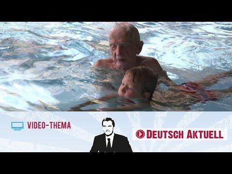 102 Jahre Jung Und Schwimmlehrer   Deutsch Lernen Mit Videos