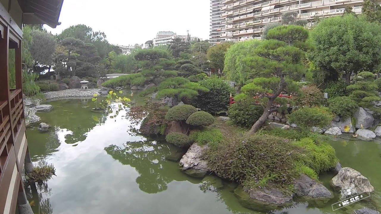 Jardin Japonais Monaco by Drone