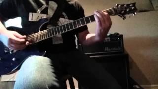 Godsmack What's Next guitar cover!!