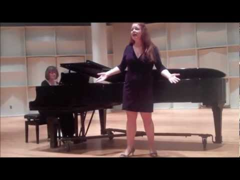 Stephanie Gray singing Honey Bun- South Pacific