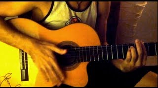 3 steps how to play Flamenco Guitar (Rumba) for Tormenta De Fuego