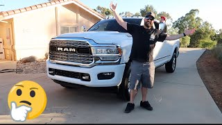 L5P OWNER DRIVES RAM 3500 FOR THE FIRST TIME AND THIS IS WHAT HE THINKS?