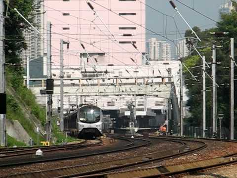 [EAL] East Rail Line MLR & KTT multi trains meet.