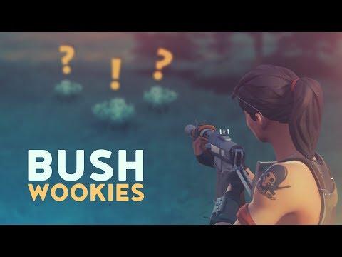 BUSH WOOKIES! (Fortnite Battle Royale)