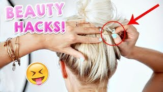 8 Beauty Life Hacks That ACTUALLY Work! | Aspyn Ovard