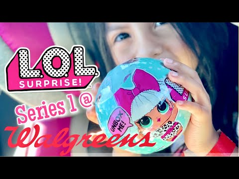 Lol Surprise Dolls Series 1 At Walgreens Found Youtube