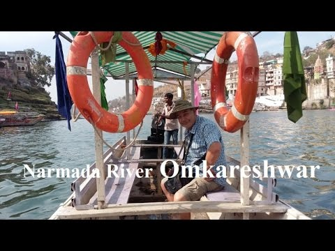 India/Omkareshwar Narmada River&Ghat Part 46