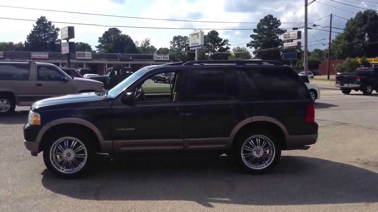 """Ford Explorer Lease >> 2002 Ford Explorer sitting on 22"""" 2 Craves wrapped in 275-45-20 Saffiro - YouTube"""
