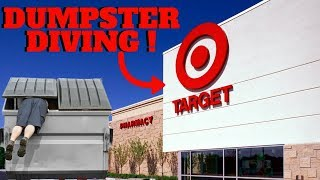 WHATS INSIDE OF TARGETS DUMPSTER?!? -Dumpster Dive Night #59