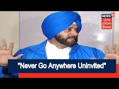 Never Go Anywhere Uninvited, says 'Miffed' Sidhu