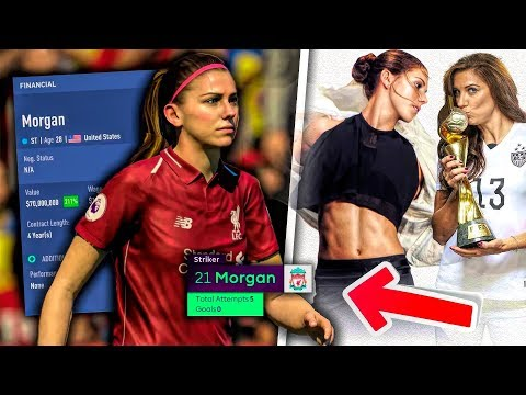 Alex Morgan In The Premier League! - FIFA 19 Women's World Cup