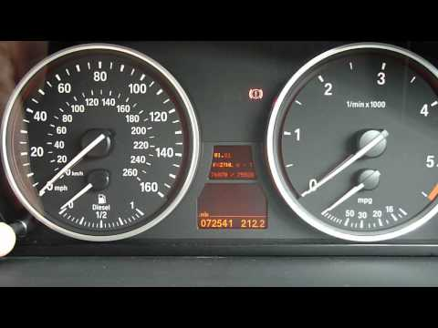 How to check Engine Temperature in BMW E60