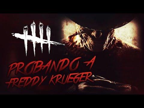 DEAD BY DAYLIGHT - PROBANDO A FREDDY KRUEGER A NIGHTMARE ON ELM STREET DLC - GAMEPLAY ESPAÑOL