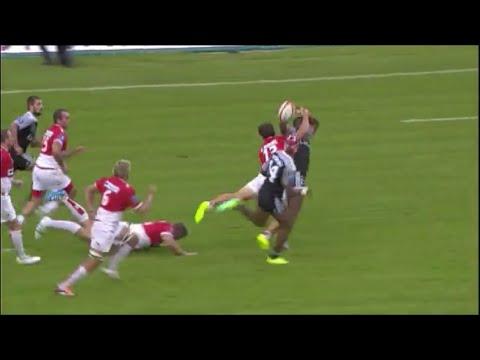 Leone Ravuetaki over the head pass to create try for Joji Ragamate