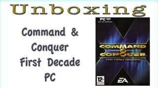 Command & Conquer First Decade Unboxing PC