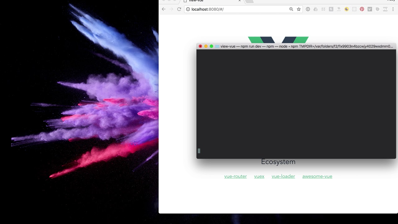 Learning VueJS using Vue CLI with Chris Fritz, Vue Core Team & Tracy Lee,  This Dot & GDE