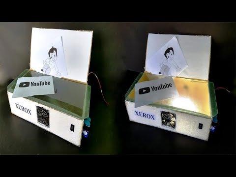 How to Make a Electric XEROX Machine - DIY Xerox Image Copier Machine at Home