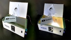 How to Make a Electric XEROX Machine - DIY Xerox Image Copier Machine at Home