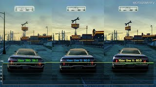 Burnout Paradise vs Remastered - Xbox 360 vs Xbox One S vs Xbox One X - Performance Comparison