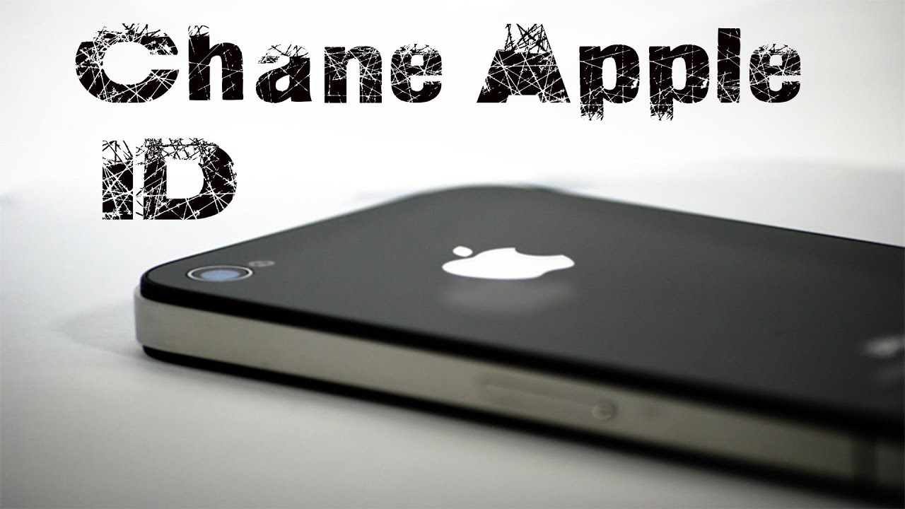 How to remove old apple id from iphone 4