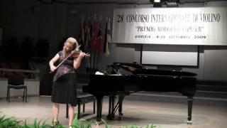 Rosalie Macmillan - Bach Chaconne Part 1 (HD)