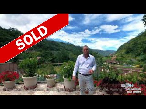 5 bedrooms 5.5 bath Custom Home Valle Escondido in Boquete Panama