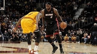 LeBron Leads Heat to Win Over Cavaliers