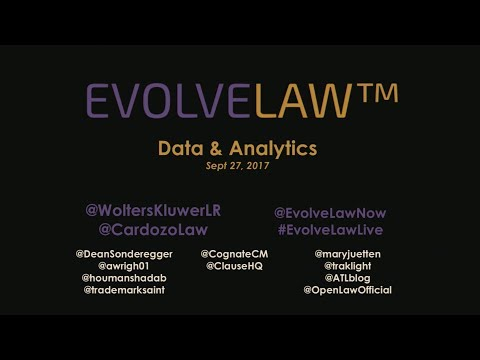 Data & Analytics in the Law - NYC - Sep 27 2017