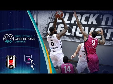Besiktas Sompo Japan v Telekom Baskets Bonn - Full Game - Basketball Champions League 2017-18