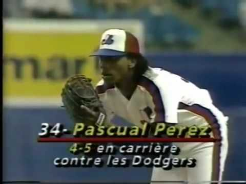 8/23/89 Dodgers at Expos
