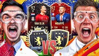 FIFA 20 : ELITE 1 vs GOLD 1 REWARDS - FUT CHAMPIONS EXPERIMENT !! 😱🔥